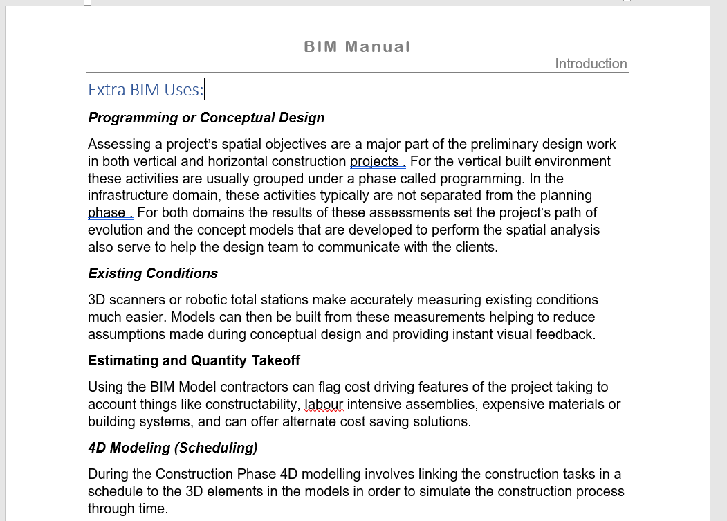 BM_BIM Use Extra